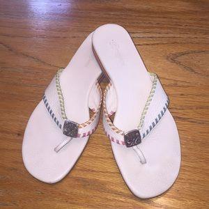 "Brighton ""Cheryl"" slip on sandals size 8"